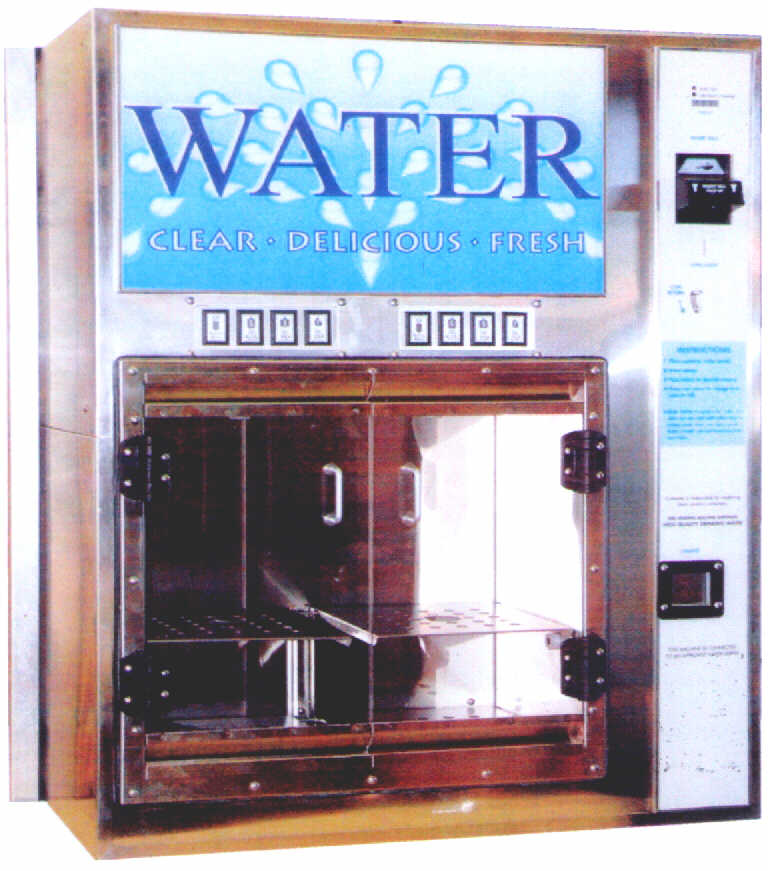 water vending machine, coin operated water dispenser, water filter vending machines, water filter,purifier, vending machine for water